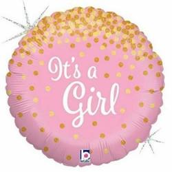 Ballon naissance fille