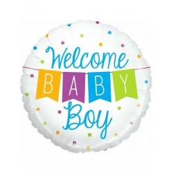 Ballon naissance welcome