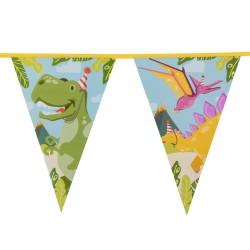 Bannière dinosaure