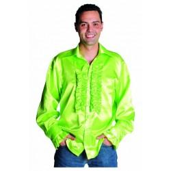 Chemise disco vert