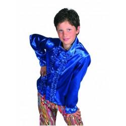 Chemise disco bleu enfant