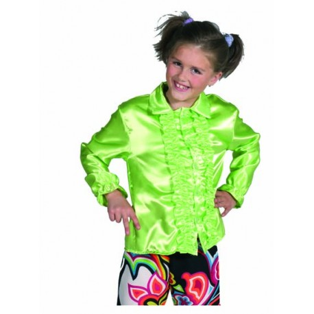 Chemise disco vert enfant