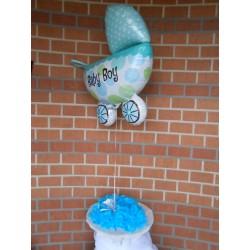 Montage ballon baby boy