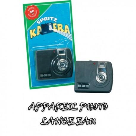 Camera lance eau