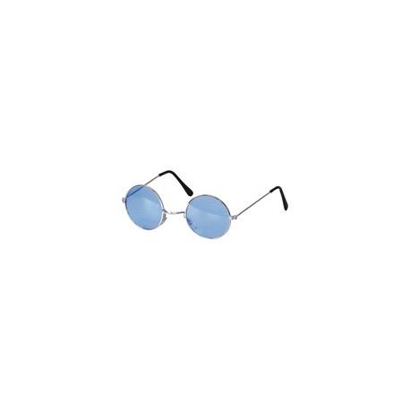Lunette hippie bleu
