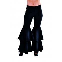 Pantalon noir disco