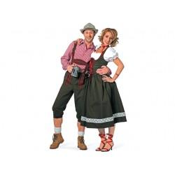 Couple tyrolien-tyrolienne