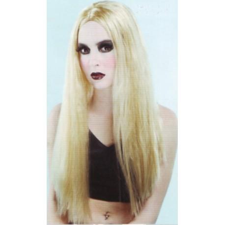 Perruque blonde sans franche