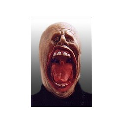 Masque latex grande bouche