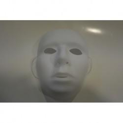 Masque plastique blanc