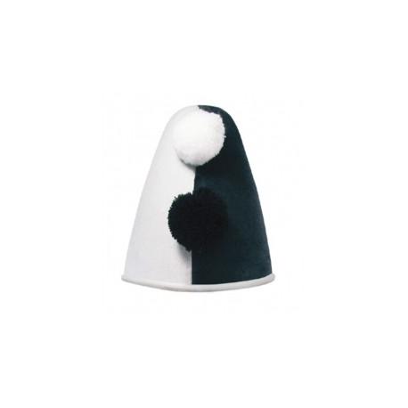 Chapeau pierrot noir et blanc