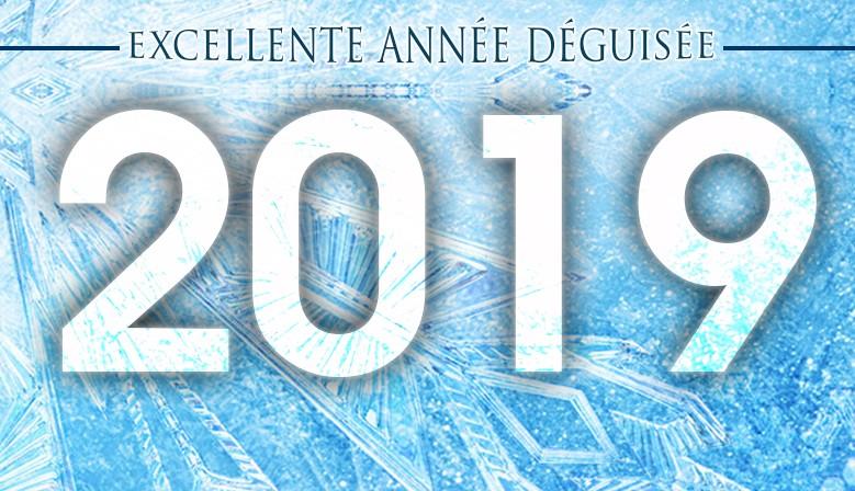 excellente année déguisée 2019